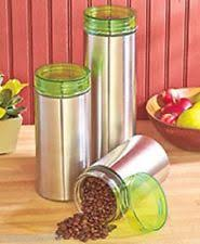 unbranded stainless steel kitchen canister sets ebay