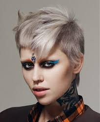 must have hair do for 2015 a short grey hairstyle from the the academy collection ss15