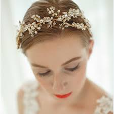 hair accessories for prom aliexpress buy gold silver luxury bridal headbands wedding