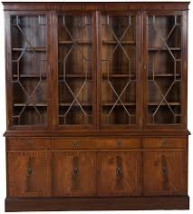 Bookcase Cabinet With Doors Wide Bookcase With Doors Nrhcares