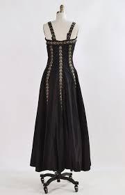 1940s dresses plaisir de amour gown vintage 1940s gown black 40s vintage