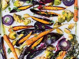 chicken fat roasted vegetables with gremolata recipe melissa