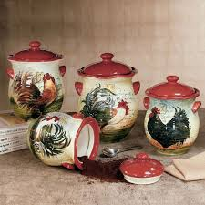 rooster kitchen canisters 36 best rooster kitchen decor images on rooster