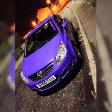 vauxhall purple purple vauxhall corsa d in stranraer dumfries and galloway