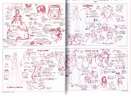 disney character illustration pose collection reference book