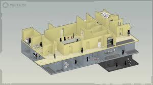 isometric floor plan image isometric room portal is free png half life wiki