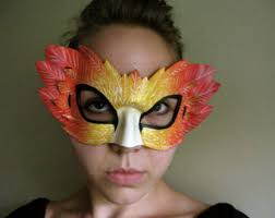 Phoenix Halloween Costume Phoenix Mask Etsy