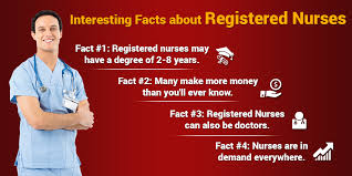 four interesting facts about registered nurses every nursing student