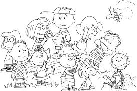snoopy thanksgiving coloring pages 98 ideas peanut coloring page on kankanwz com