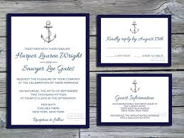 wedding invitations packages best 25 nautical wedding invitations ideas on
