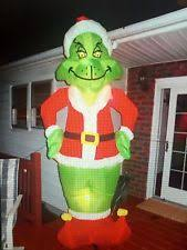 gemmy how the grinch stole christmas giant 8 ft inflatable