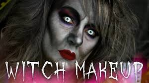 witch halloween makeup tutorial 31 days of halloween youtube