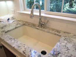 quartz kitchen sinks pros and cons composite sinks pros and cons large size of sink sealer quartz