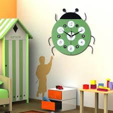Ladybug Home Decor Ladybug Shape Decorative Wall Clocks Modern Design Silent Living