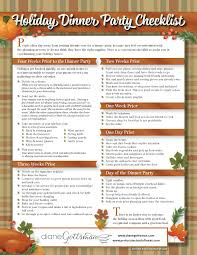 Dinner Party Agenda - dinner party list templates instathreds co