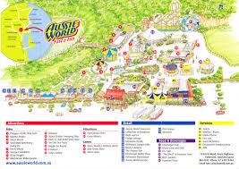 aussie map aussie world 2011 park map