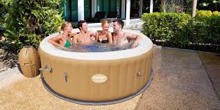Jacuzzi Price The Best Selling Palm Springs Inflatable 6 Person Tub Is
