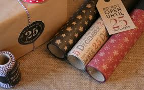 vintage christmas wrapping paper rolls east of india 3m 8m roll vintage christmas brown paper wrapping