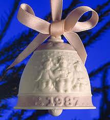 lladró porcelain figurines 1987 bell l e