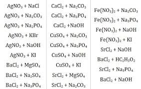 lab precipitation reactions answers 28 images net ionic