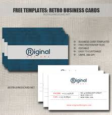 30 free psd business card templates