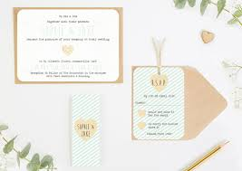 mint wedding invitations mint stripe wedding invitations bundle norma dorothy