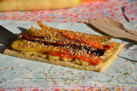 cuisiner les l馮umes anciens tartes fines aux légumes anciens et au sésame 100 mag les