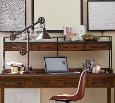 pottery barn desk with hutch benchwright desk hutch pottery barn