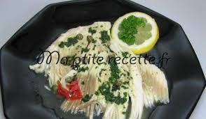 cuisiner la raie au beurre noir aile de raie au beurre noir recette plat raie
