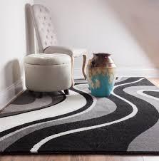 samba waves grey charcoal black white soft tones abstract soft