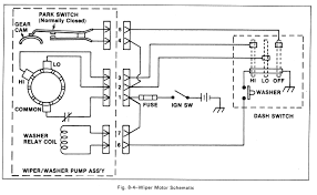 1963 chevy wiper motor wiring cable phone line diagram john inside