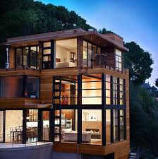 Twilight Cullen House Floor Plan Cliff House Features Spectacular Walls Of Glass In Sausalito