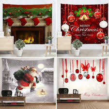 christmas wall decor unbranded tapestries wall décor ebay
