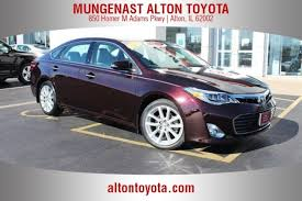 certified used toyota avalon certified used 2014 toyota avalon in alton il for sale