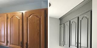 how to make cabinets go to ceiling how to extend your cabinets to the ceiling in an hour