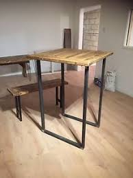 Industrial Bar Table Breakfast Bar Legs Industrial Chic Rustic Bar Table Legs