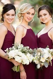burgundy bridesmaid dresses trend we burgundy bridesmaid dresses