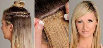 pics pf extentions with short hair sewn in hair extensions for short hair hairstyles blog