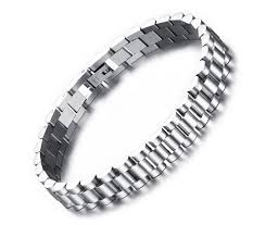 link men silver bracelet images 2018 8 7 men 39 s stainless steel 10mm silver watch band link chain jpg