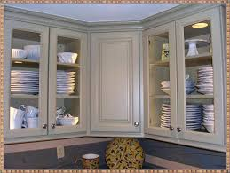 China Cabinets With Glass Doors Oak Kitchen Cabinets With Glass Doors Oak Cabinet Glass Doors