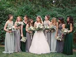 green bridesmaid dresses best 25 forest green bridesmaid dresses ideas on
