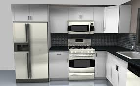 Kitchen Cabinet Penang by Kitchen Stainless Steel Kitchen Cabinet With Refrigerator 2017