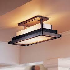 Semi Flush Ceiling Lights Hubbardton Forge 123709 10 Steppe Rectangle Semi Flush Ceiling