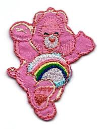 cheer bear care bears embroidered teddy bear iron sew