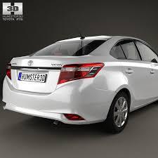 toyota car models 2014 3d toyota yaris sedan with hq interior 2014 cgtrader