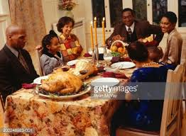 family thanksgiving dinner stock photo getty images