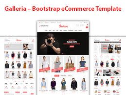 galleria u2013 bootstrap ecommerce template by devitems dribbble
