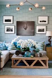 Blue And Black Living Room Decorating Ideas Beautiful Beach Inspired Living Room In Light Blue Tones And