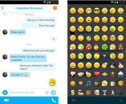 new update for android skype se actualiza en android con soporte para emojis wayerless