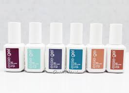 essie gel uv gel nail polish set of 6 colors spring 2015